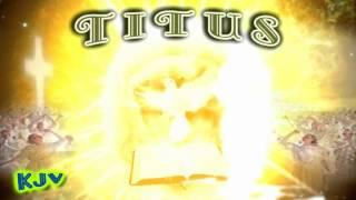 56 book of titus kjv holy bible nt new testament