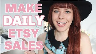 Make MORE Etsy Sales with LESS traffic | Simple Steps To Improve Your Conversion Rate | Cayce Anne