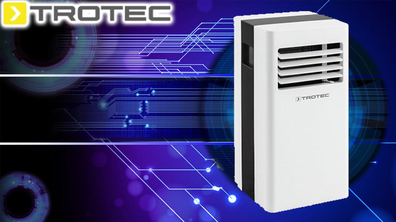 Hardware | TROTEC mobile Klimaanlage PAC 2300 X - YouTube