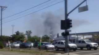 Watt Ave And Arden Way Building Fire Sacramento, CA April 21 2013 Part 1