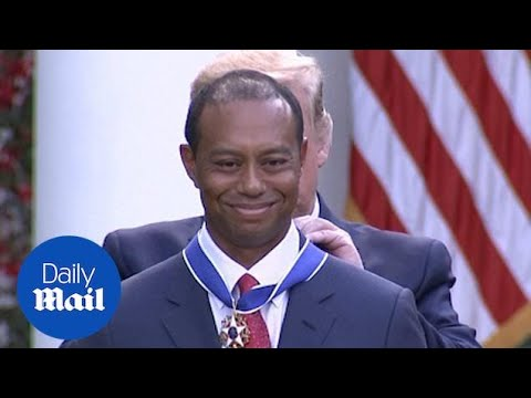 Frankie Darcell - Tiger Woods Awarded The Medal Of Freedom