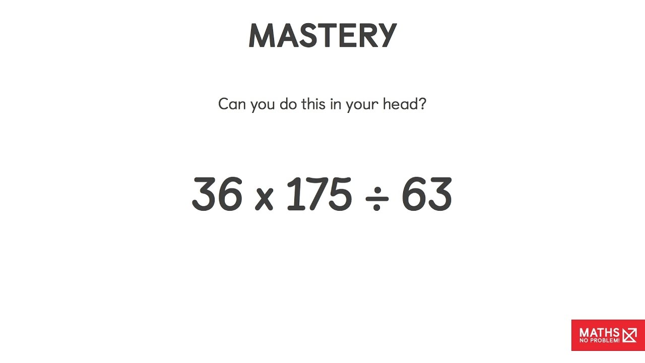 Solving Mental Maths Question And Answer | Maths — No Problem!