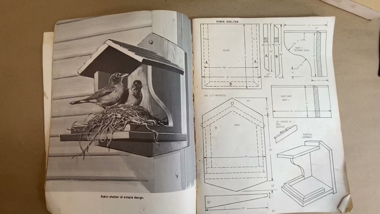 Download How to Make a Robin Platform Shelter, Step by Step; Part 1
