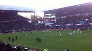 Aston villa vs Swansea city 11/12