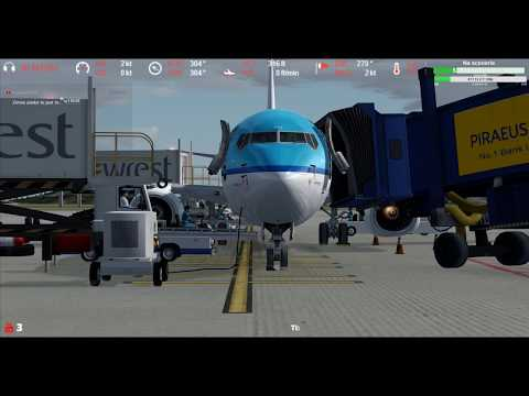 [P3Dv4ᴴᴰ] Eleftherios Venizelos International Airport LGAV ⇒ Nice-Côte d'Azur Airport LFMN VATSIM