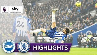Spektakulärer Fallrückzieher bei Blues Remis | Brighton - FC Chelsea 1:1 | Highlights