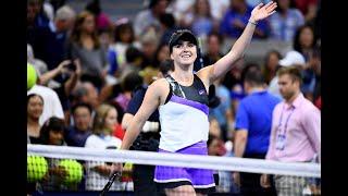 Elina Svitolina vs Madison Keys | US Open 2019 R4 Press Conference