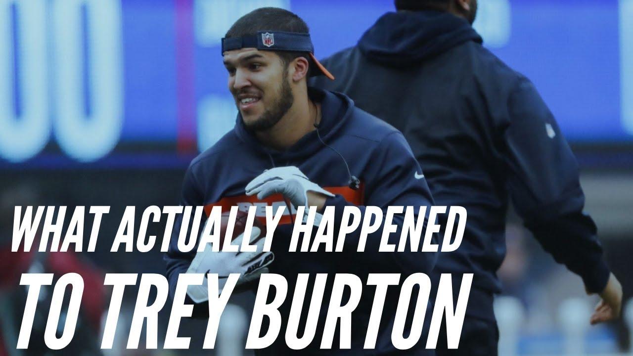 What Actually Happened to Trey Burton (Injury) || Chicago