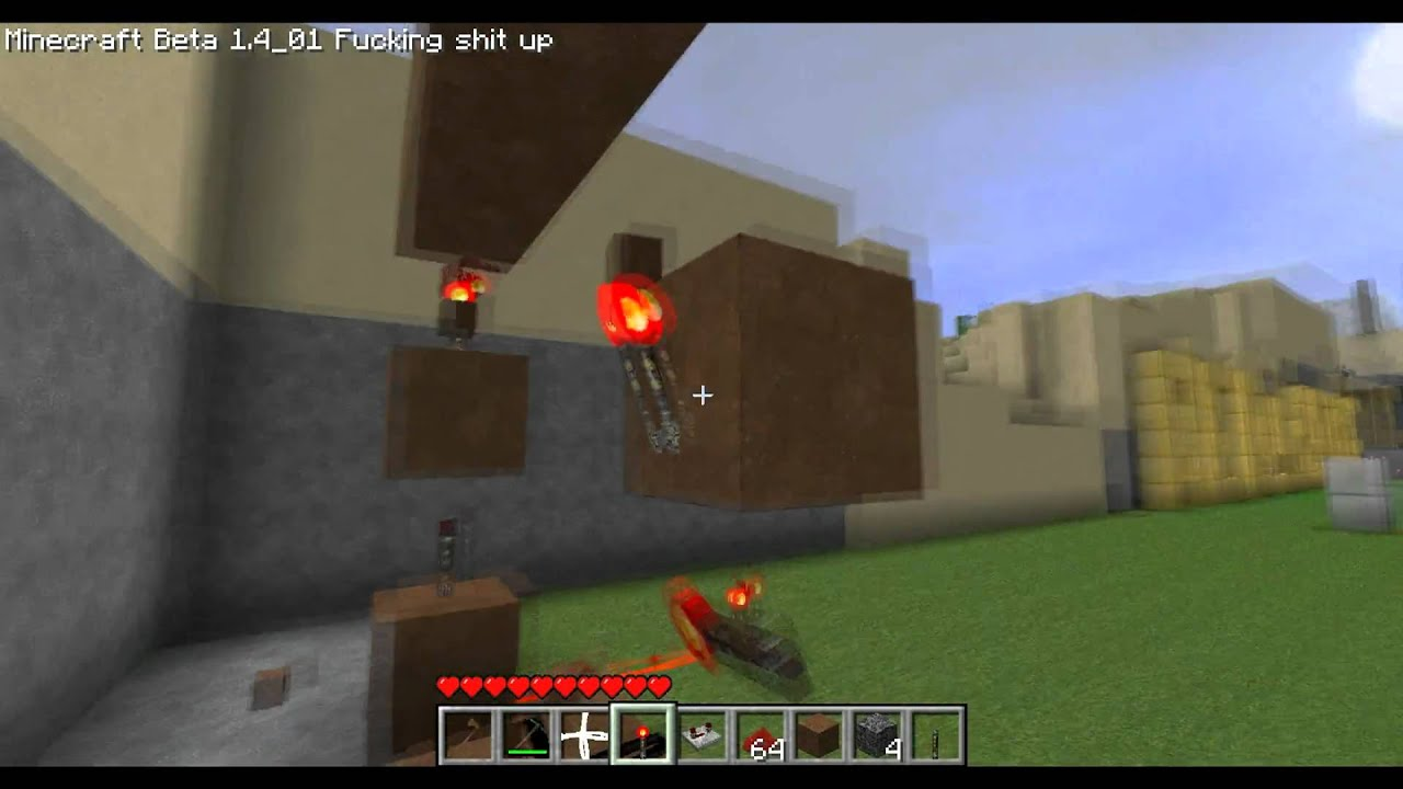 Redstone Tutorials Video 3 Vertical Wiring 1080p Hd Youtube