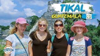 Tikal Guatemala - Ancient Mayan City &amp Star Wars Rebel Base 90 Countries with 3 Kids