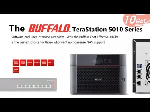 The Buffalo 5810DN Software Overview
