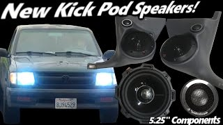 Doubling the Highs! New Kick Pod Speakers! Rockford Fosgate T2 5.25