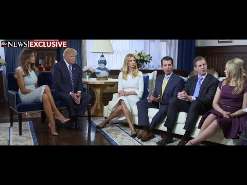 Trump Family on