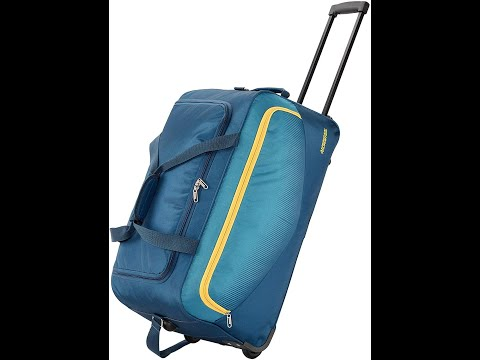 American Tourister Ohio Polyster 55 Cms Blue Travel Duffle Bag / Full Review / Best Trolley Bag