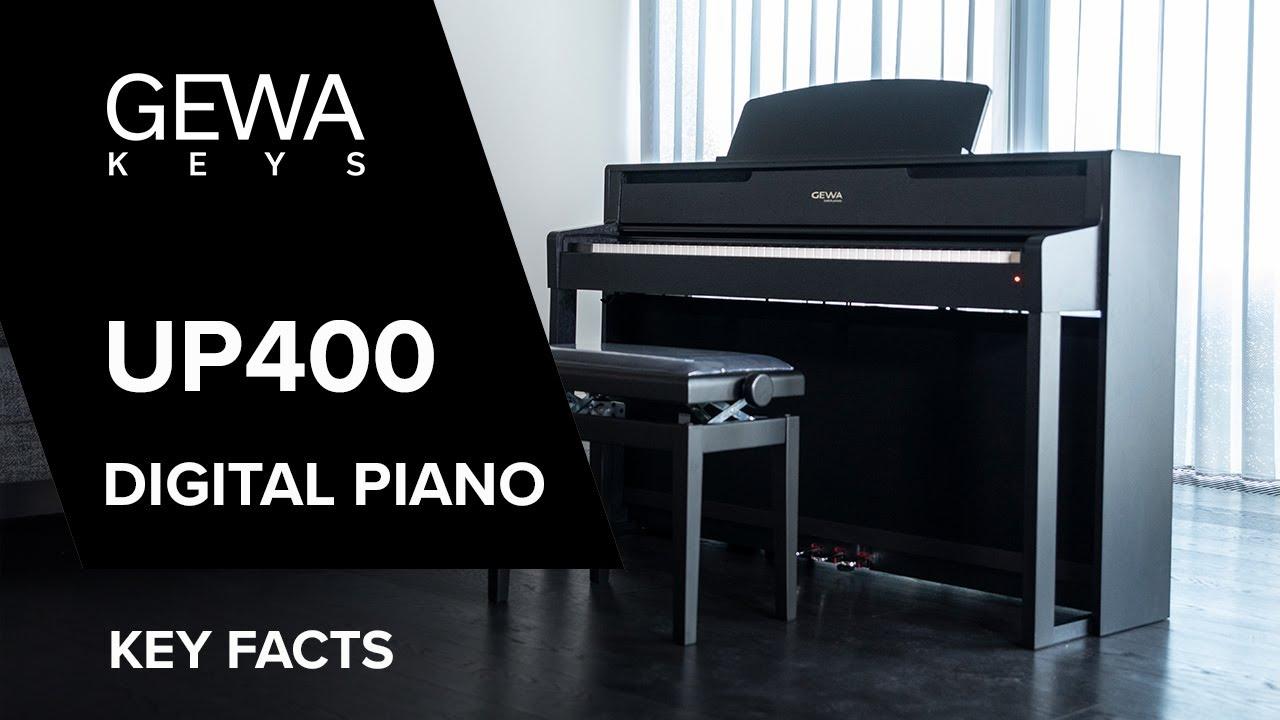 Gewa Up400 Digital Piano Key Features Youtube