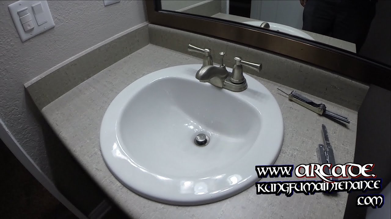 Sink Faucet Handle Came Off How To Tighten Down Loose Handles - YouTube