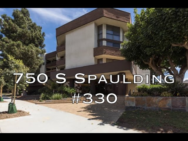 750 S Spaulding Ave #330, Los Angeles CA 90036