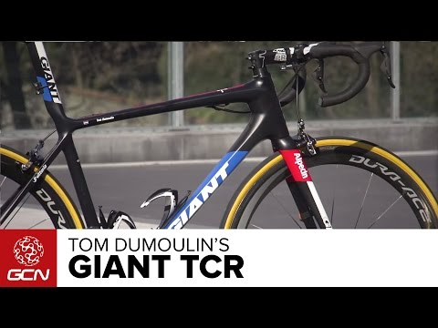 Tom Dumoulin S Giant Tcr Advanced Youtube