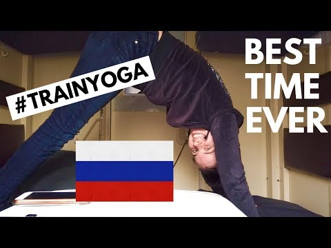 DOING YOGA ON THE TRANS SIBERIAN EXPRESS | 54hrs Irkutsk To Yekaterinburg
