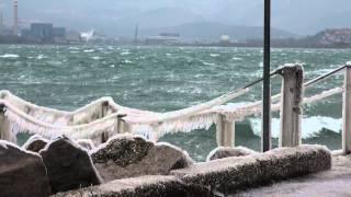 GELO E BORA a Trieste (febbraio)