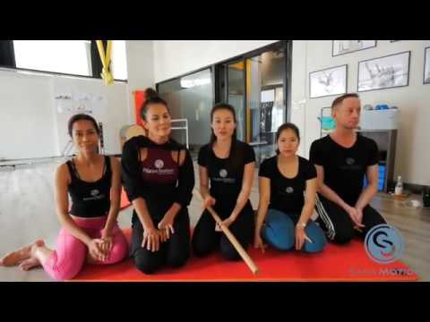 Pilates Matwork Class for our Friends & Students in China