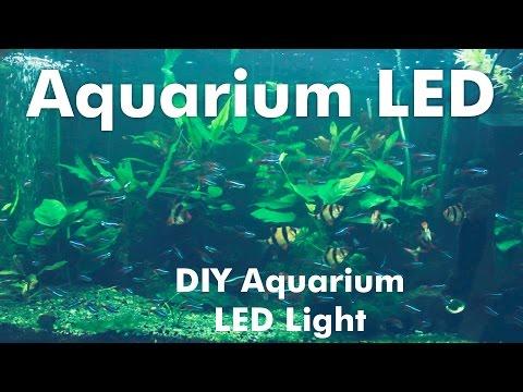 How to make a DIY Aquarium LED Light with RGB LED Strips
