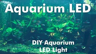 How to make a DIY Aquarium LED Light with RGB LED Strips
