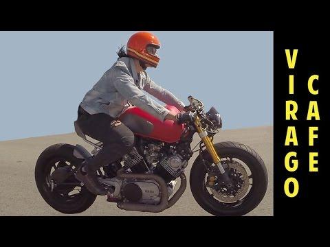 1982 Yamaha Virago XV750 Cafe Racer R6 - YouTube