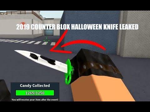Halloween Event Counter Blox 2020 Halloween Roblox COUNTER BLOX HALLOWEEN EVENT KNIFE LEAKED (2019)   YouTube