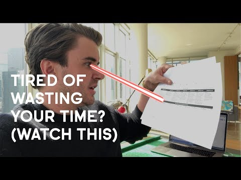 Tired Of Wasting Your Time? (Watch This)