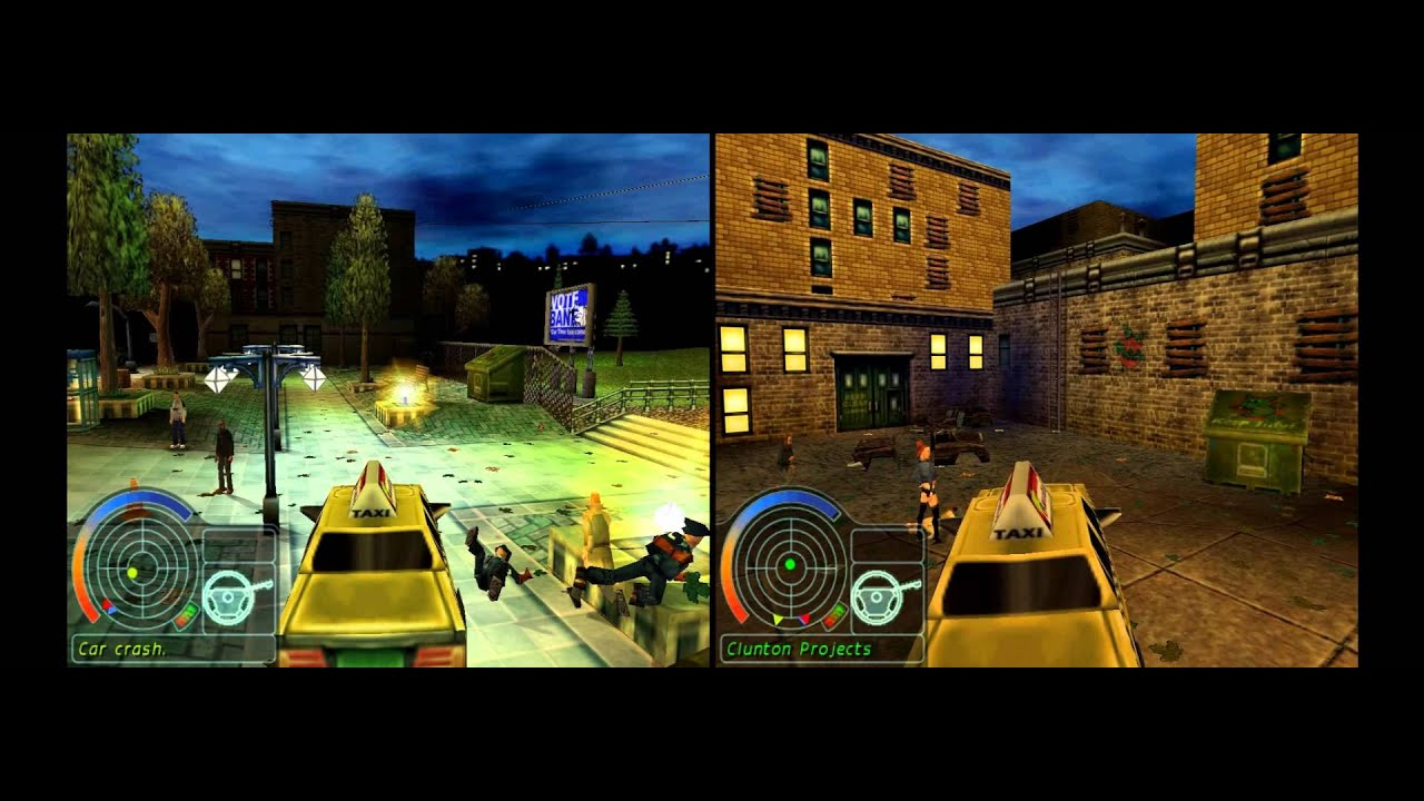 Urban Chaos (PC) different objectives demonstration