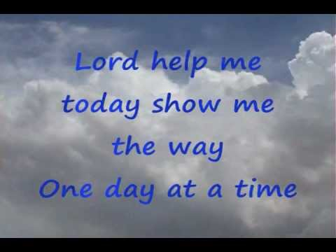 One Day at a Time Sweet Jesus - YouTube