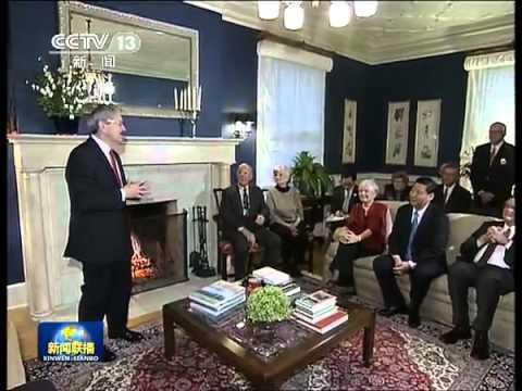 新闻联播2012-02-16 习近平与艾奥瓦州老朋友亲切座谈