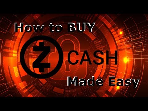 How to buy Zcash - The easiest way to BUY Zcash!