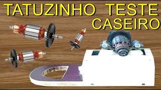 TATUZINHO PARA TESTAR INDUZIDO CASEIRO TATUZINHO PARA INDUZIDO CASEIRO PROBADOR BOBINA FERRAMENTAS