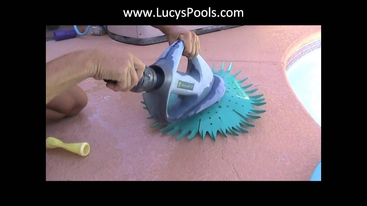 Barracuda Pool Vac Repair - YouTube