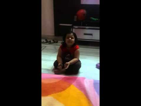 Must see Indian National anthem Jan Gan Man by 2 year old
