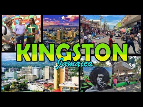KINGSTON TOWN - Jamaica 4K