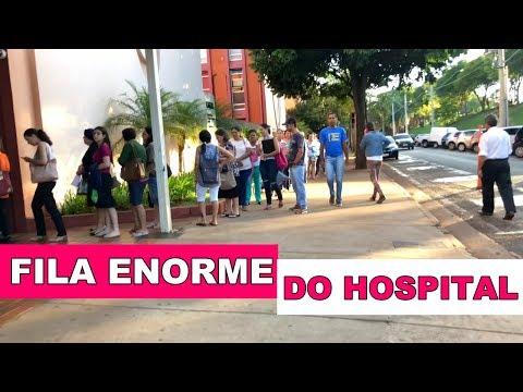 FUI PARA O HOSPITAL