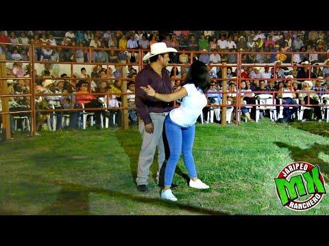 ¡¡¡MIRA COMO SE MUEVE!!! CONCURSO DE BAILE EN EL JARIPEO RANCHERO