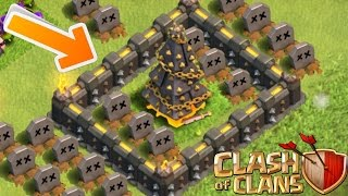 Clash of Clans - X-MAS TREE OF DEATH! CoC Tree Trolling! (Epic Tree Troll!) Christmas Eve Special