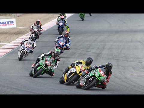 MotoAmerica Stock 1000 Race at Laguna Seca 2020