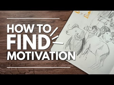 How to Find Motivation to Draw // 7 Tips