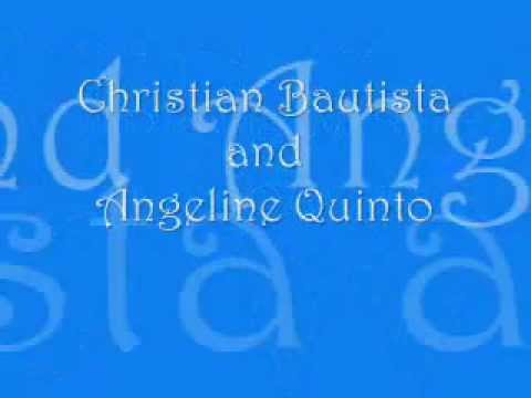 Inlove With You-Christian Bautista And Angeline Quinto