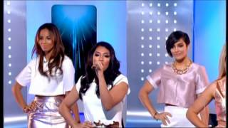 The Saturdays - Not Giving Up - This Morning - 7th April 2014