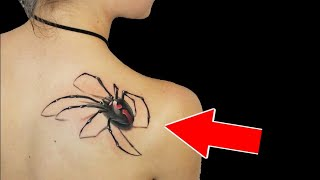 TOP 30 MOST AMAZING 3D TATTOOS