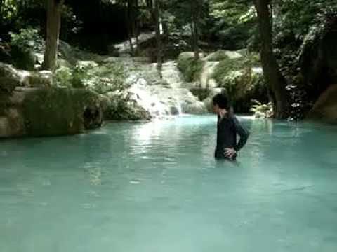 สุดยอดบรรยาศน้ำตกเอราวัณ กาญจนบุรี