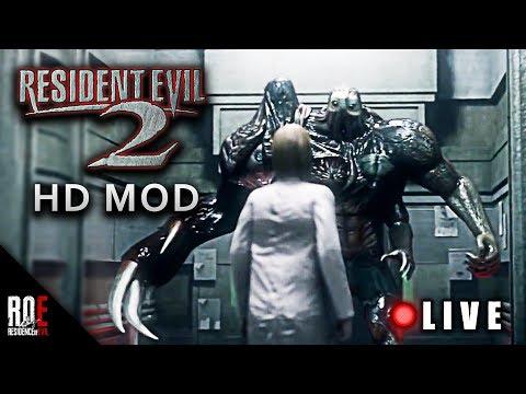 RESIDENT EVIL 2 || HD Texture Mod [Leon A - Part 1]