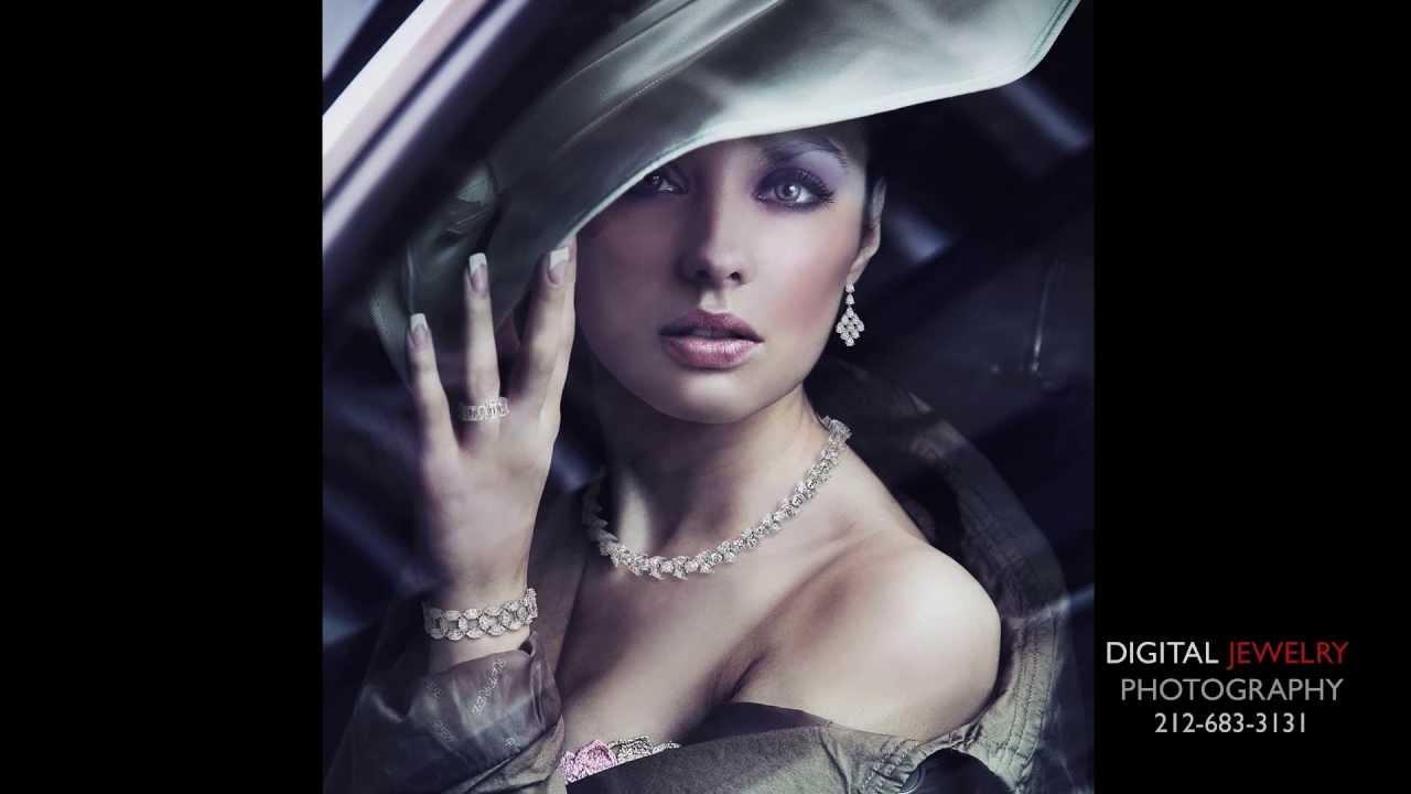 Jewelry photography model