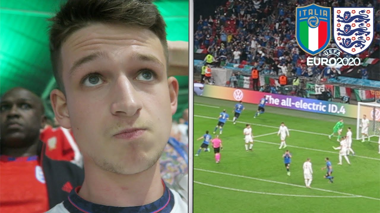 The Moment England Lose to Italy on Penalties | EURO 2020 Final